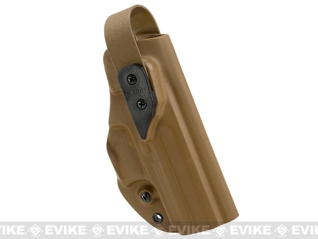 G-Code XST-RTI Kydex Holster - HK45C  Barrel (Right / Coyote Brown)