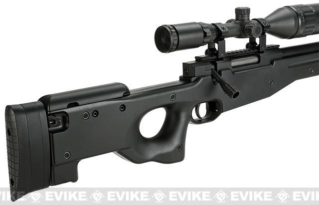 Evike Custom Class II / JG / Angel Custom Type96 / MK96 APS-2 Airsoft Bolt Action Sniper Rifle - Black