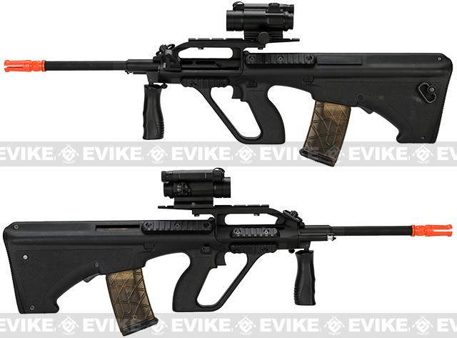 AUG CIV Full Length Airsoft AEG Rifle by JG - Black