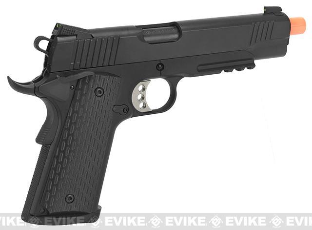 Army Armament R28 1911 Full Metal Airsoft Gas Blowback Pistol - Black