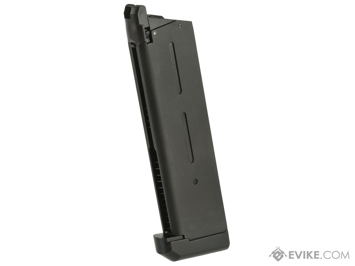 Army Armament 25 Round R30 KB Magazine for Gas Power 1911 Airsoft Pistols - Black