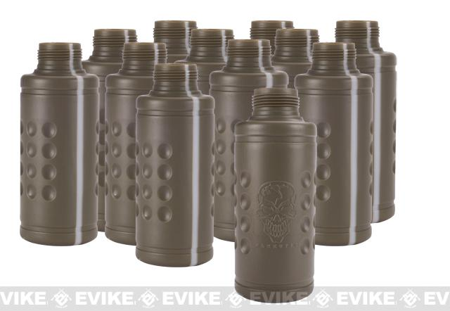 APS Hakkotsu Spare Shocker Shells For Airsoft Thunder B Tripwire Sound Grenade (Set of 12)