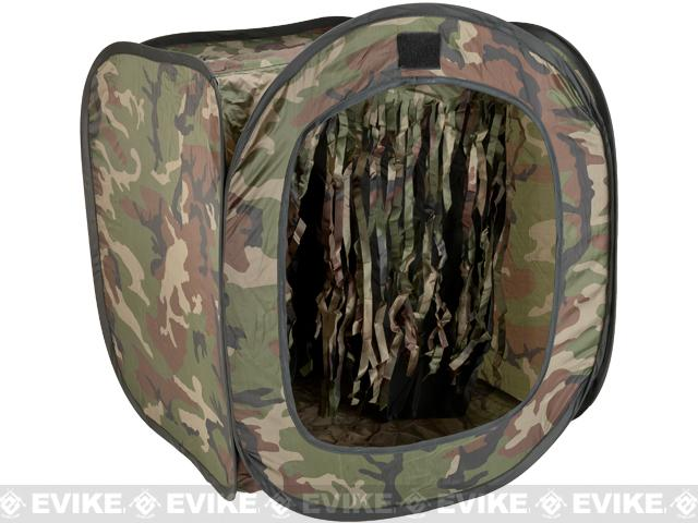 TOP BB Target Trap Tent - Woodland