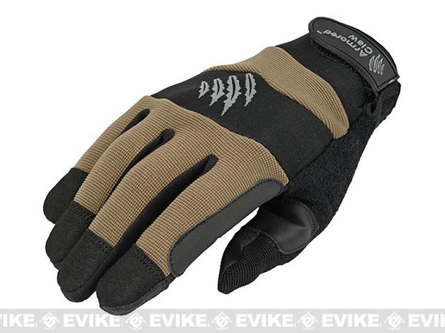 Armored Claw Accuracy Tactical Glove - Tan (Size: Medium)