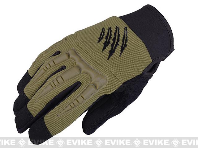 Armored Claw BattleFlex Tactical Glove - OD Green (Size: Medium)