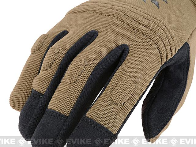 Armored Claw CovertPro Tactical Glove - Tan (Size: Small)