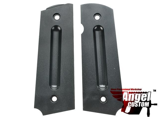 Angel Custom CNC Aluminum Shadow Killer M1911 Pistol Grip Set for WE 1911 Gas Blowback