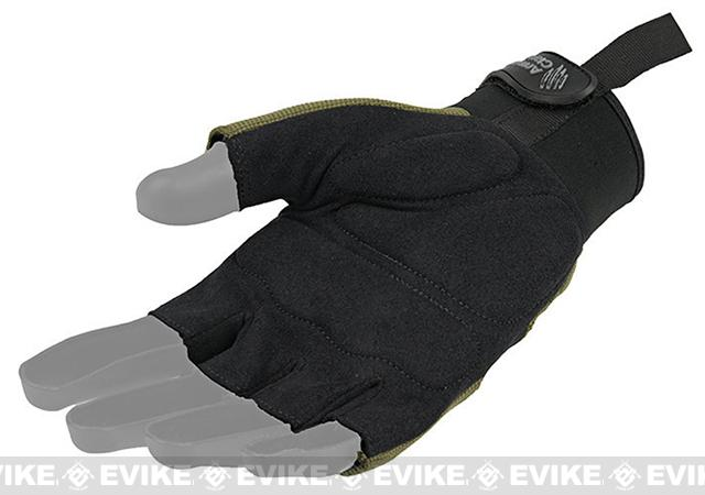 Armored Claw Shooters Cut Tactical Glove - OD Green (Size: Small)