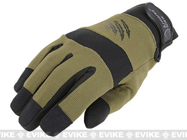 Armored Claw Cold Weather Tactical Glove - OD Green (Size: Medium)