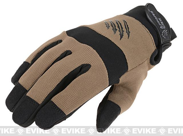 Armored Claw Cold Weather Tactical Glove - Tan (Size: Small)