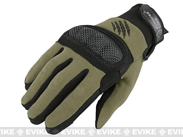 Armored Claw Shield Tactical Glove - OD Green (Size: Small)