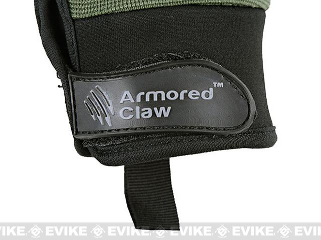 Armored Claw Shield Tactical Glove - Sage  (Size: Medium)