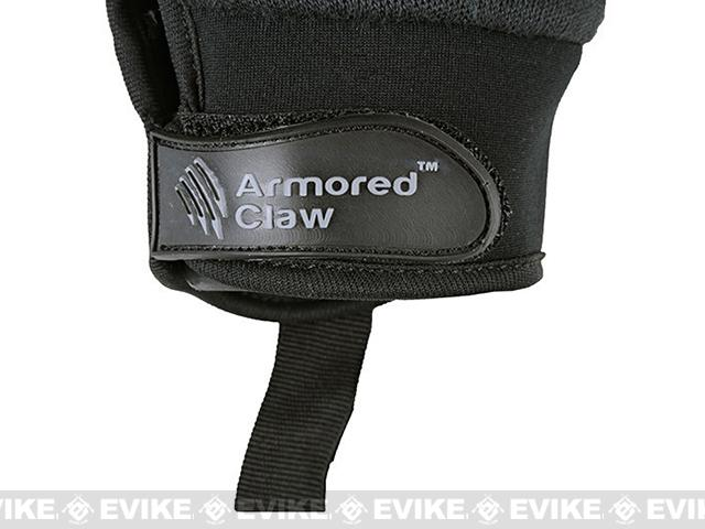 Armored Claw Smart Tac Tactical Glove - Black (Size: Large)
