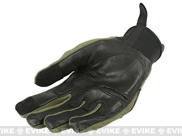 Armored Claw Smart Tac Tactical Glove - OD Green (Size: Medium)