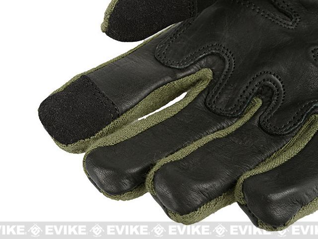 Armored Claw Smart Tac Tactical Glove - OD Green (Size: Large)