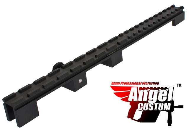z Angel Custom 100% CNC Full Flat Top Rail Mount Base for FAMAS Series Airsoft AEG