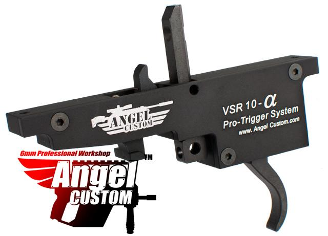 Pre-Order ETA January 2017 Angel Custom Alpha Pro Zero Trigger System For VSR-10 Airsoft Bolt Action Sniper Rifles