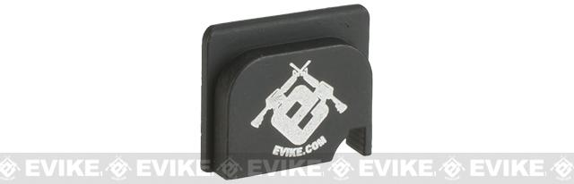 Rear Slide Cover with Evike.com Logo for Marui / WE 17 Series Gas pistols