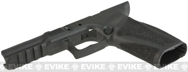 APS Frame with Custom Stippling for APS A-CAP series Airsoft Pistols - Black