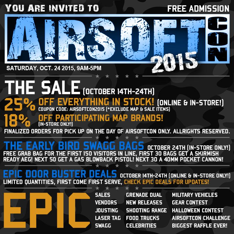 The Box Of Awesomeness 2015 (Edition: Airsoftcon 2015 Box of Conness)