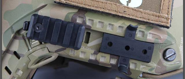 ARC / ACH / Bump Type Helmet Rail Mount Set - Tan