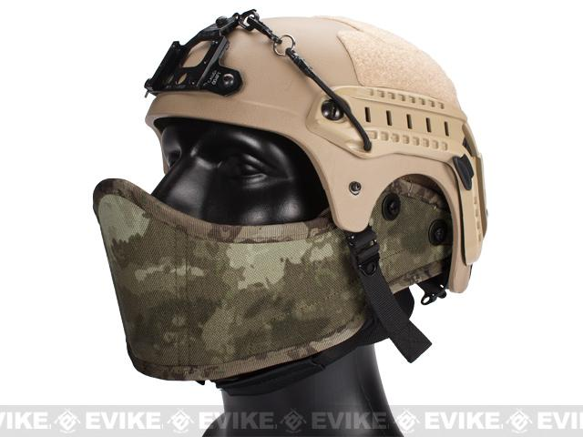 Avengers Helmet Face Armour HAF Mask for Airsoft (Color: Arid Camo)