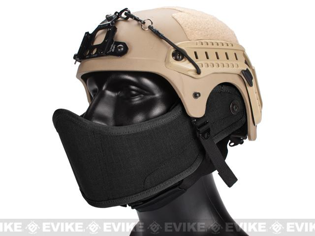 Avengers Helmet Face Armour HAF Mask for Airsoft (Color: Black)