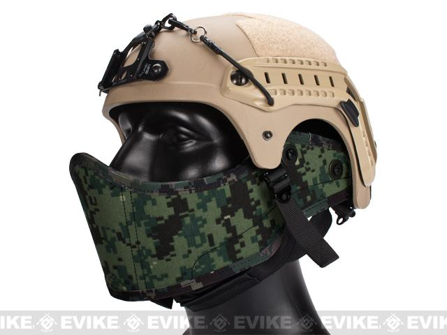 Avengers Helmet Face Armour HAF Mask for Airsoft - Digital Woodland Marpat