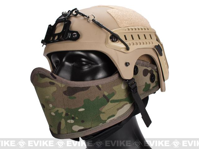 Avengers Helmet Face Armour HAF Mask for Airsoft - Land Camo