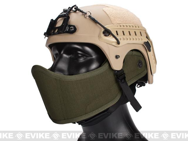 Avengers Helmet Face Armour HAF Mask for Airsoft - Foliage Green