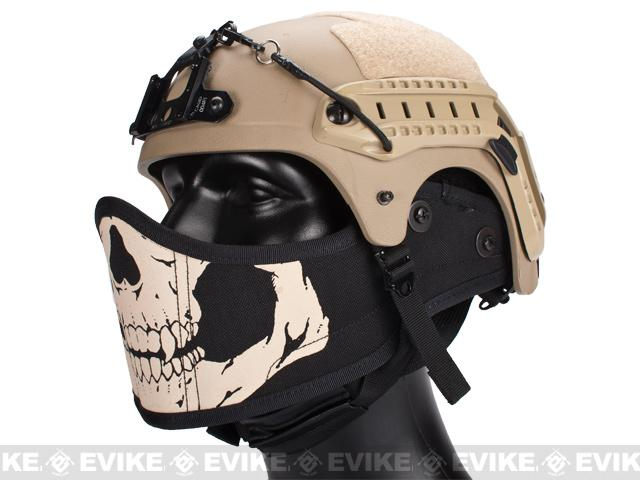 Avengers Helmet Face Armour HAF Mask for Airsoft - Skull