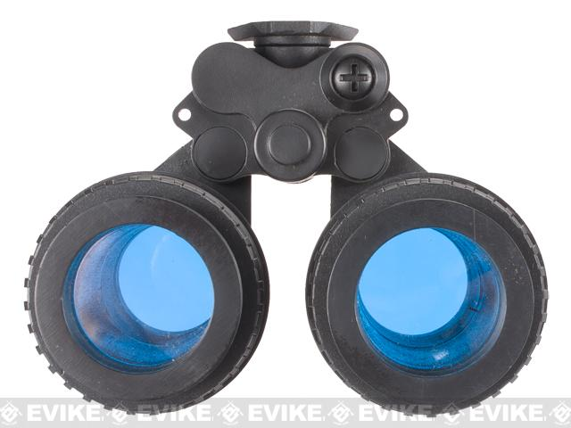 Matrix Replica Dummy AN/PVS-15 Binocular Night Vision (For Movie Prop, Cosplay, Decorative) - (Black)