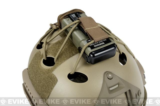 Matrix DIY Retention Kit for Bump / High Speed Airsoft Helmets - Tan