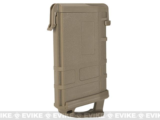 Airsoft AR-15 Magazine Shaped Business Card Holder - Dark Earth