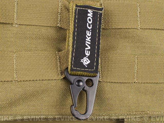Evike.com Tactical MOLLE Belt Eagle Claw Key Holder - Black