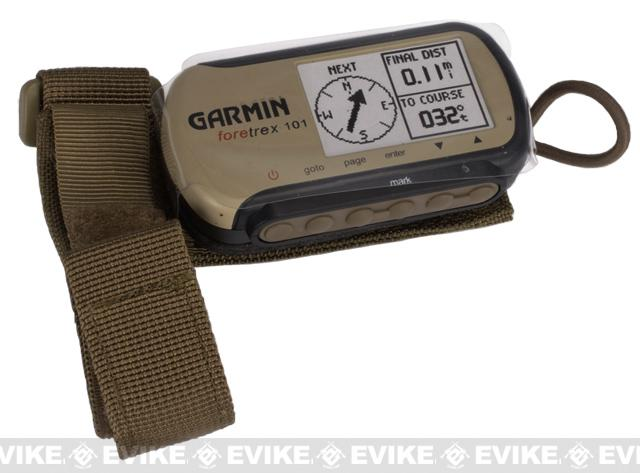 z Pro-Arms Butt Stock Pouch for Garmin foretrex 101 GPS with Dummy Unit - Coyote Brown