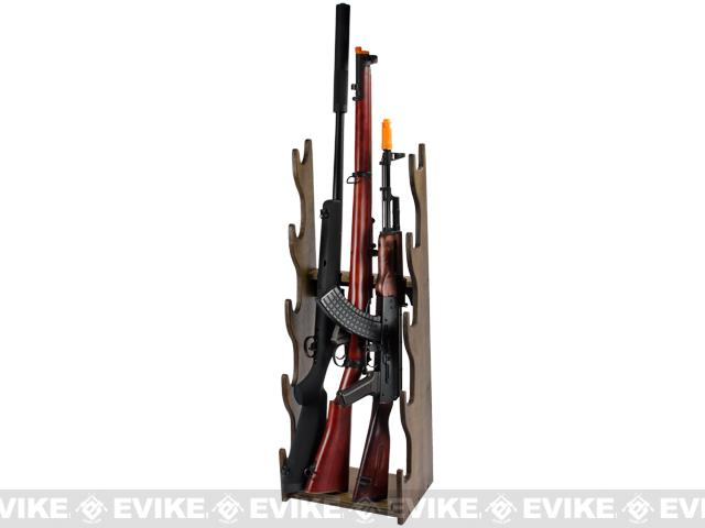 z Matrix Wood Deluxe Rifle / Gun Rack