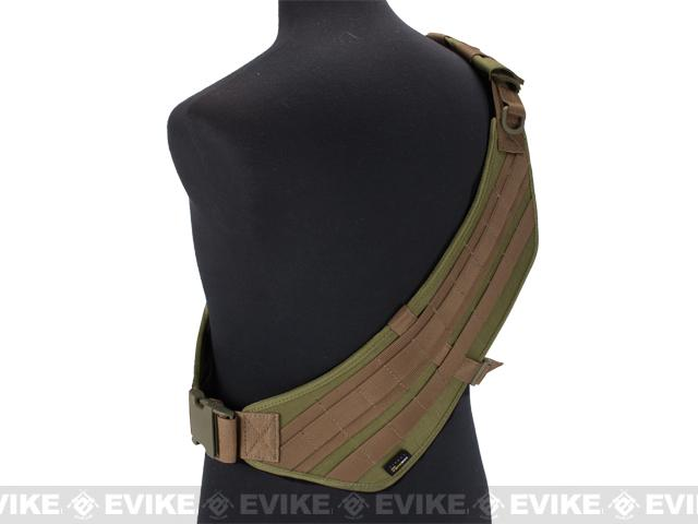 Phantom Gear MOLLE Ready Tactical High Speed Bandolier - Tan