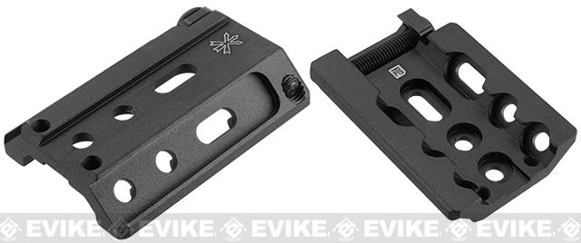 PTS Unity Tactical Fusion Series Rail Accessories - Black