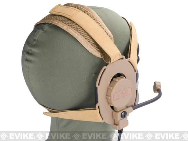 Z-Tactical Military Style EVO III Tactical Communications Headset - Tan