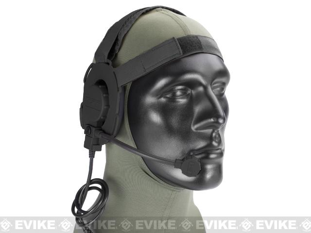 Z-Tactical Military Grade EVO III Tactical Communications Headset - (Black)