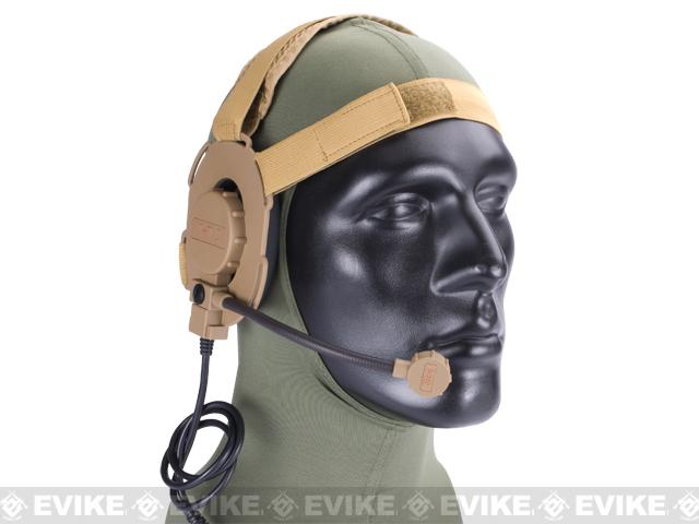 Z-Tactical Military Grade EVO III Tactical Communications Headset - (Tan)