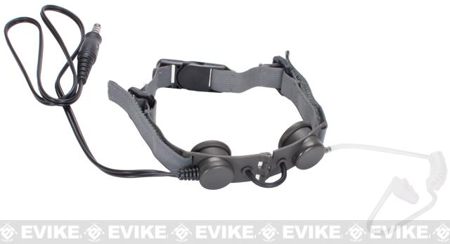 Z-Tactical Throat Mic Microphone - Foliage Green