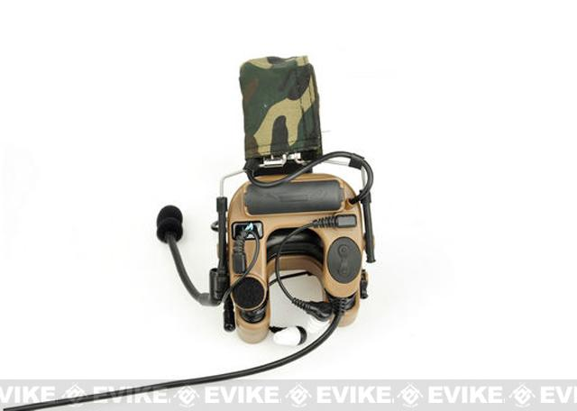 Z-Tactical ZCOMTAC IV In-Ear Headset - Tan