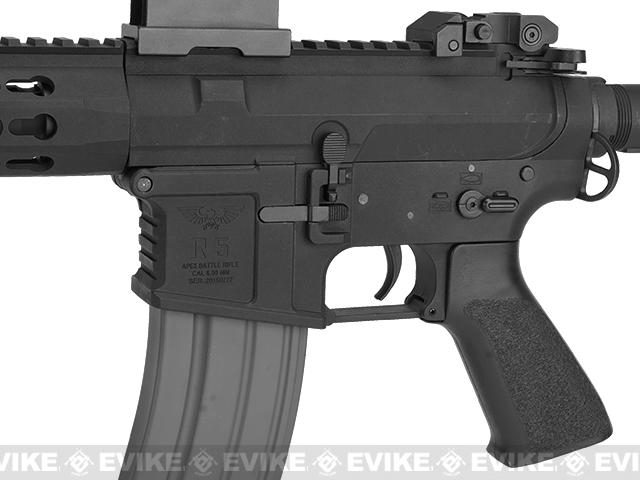 APEX R5 Battlemod 10 Airsoft AEG Rifle Gen. 2 - Black