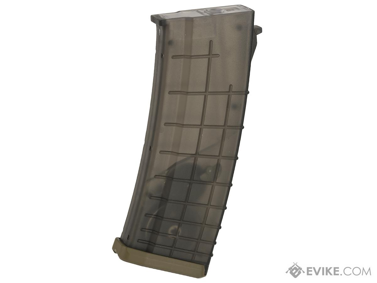 CYMA 520rd Bulgarian Style Hi-Cap Magazine for AK Series Airsoft AEG Rifles - Translucent