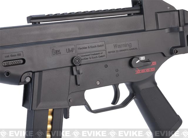 Pre-Order ETA February 2017 H&K UMP .45 Elite Airsoft Electric Blowback EBB AEG SMG Rifle by Umarex