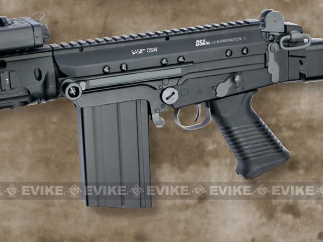 DSA Inc. Licensed SA-58 OSW Full Metal Airsoft AEG Rifle by ASG