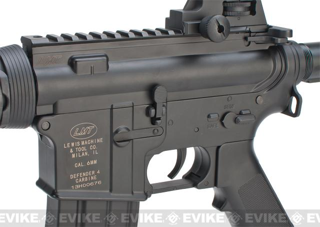 LMT Defender RIS Sportline Airsoft AEG Rifle by ASG