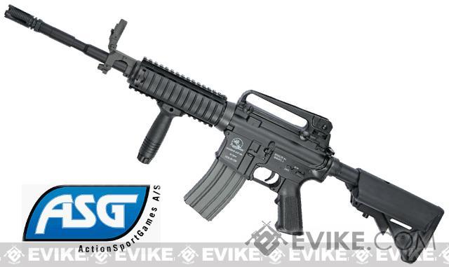 Classic Army ArmaLite Licensed M15A4 M4 RIS Airsoft AEG Rifle w/ LMT Crane Stock by ASG